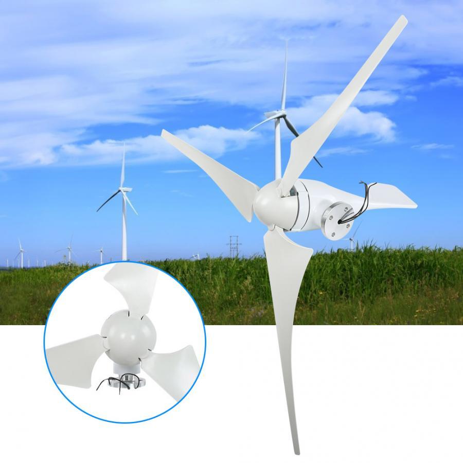 NE-400S 400W 24V petit générateur d'éolienne 630mm lames de Fiber de Nylon + générateur triphasé à aimant Permanent AC