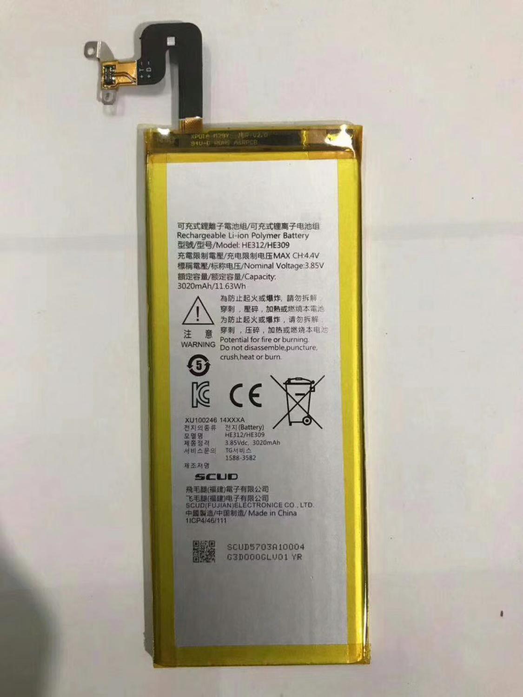 Hohe Qualität 3020mAh HE312 HE309 Batterie für SHARP Z3 L900S FS8009