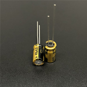 Image 2 - 10pcs 470uF 6.3V NICHICON FW Series 6.3x11mm 6.3V470uF Audio Aluminum Electrolytic Capacitor