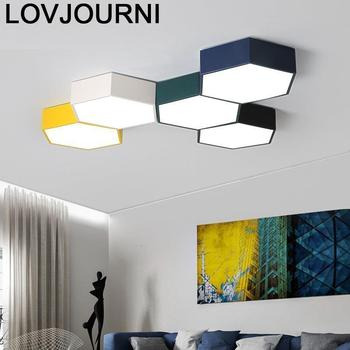 Candeeiro Voor Home Verlichting Sufitowa Plafon Led Lampara Techo Luminaria De Teto Plafonnier Woonkamer Licht Plafond Lamp