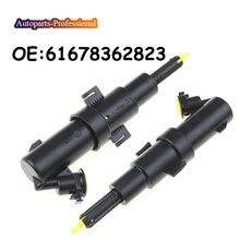 1 PCS Car For B MW 3 E46 1997 E46 120 318 320 323 325 330 Headlamp headlight washer nozzle 61678362823 6167 8362 823 714704601