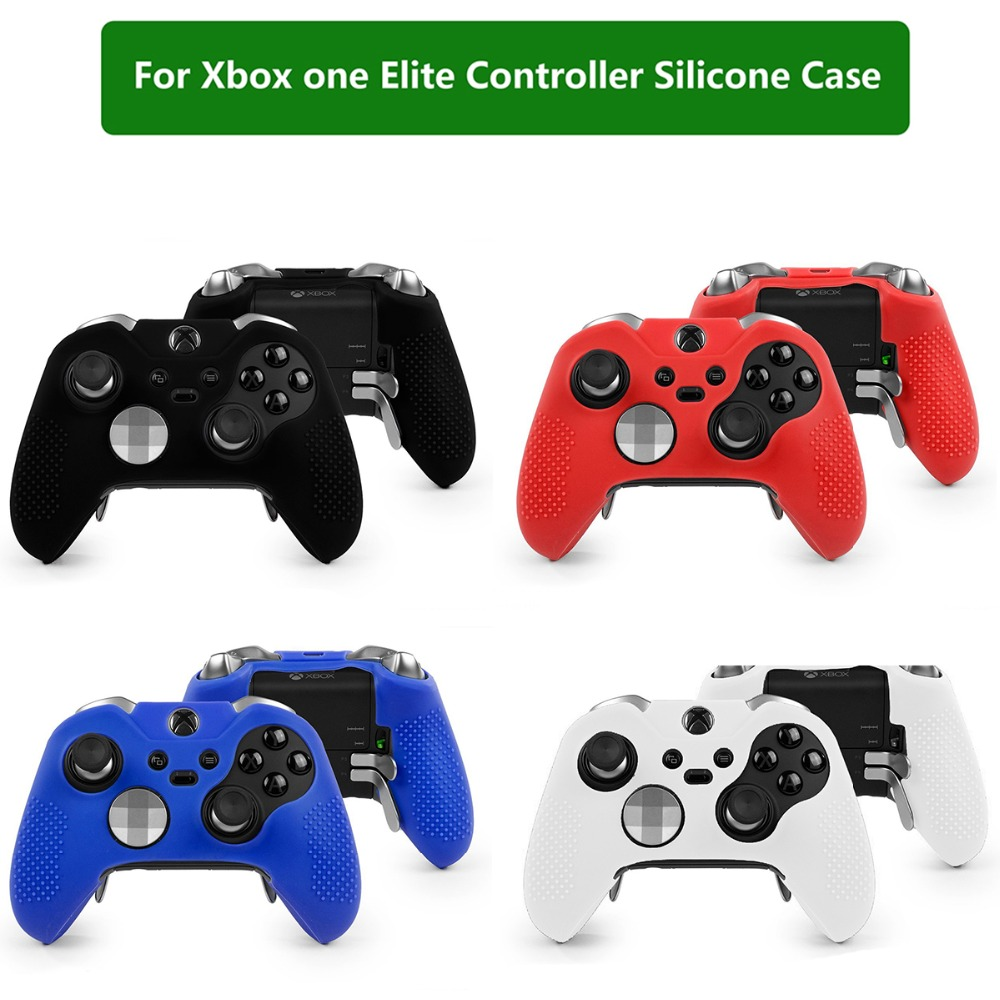 Silicone Protective Case Cover Protector Skin For Xbox One Elite Controller Silicone Protective Skin Cover Case Shell
