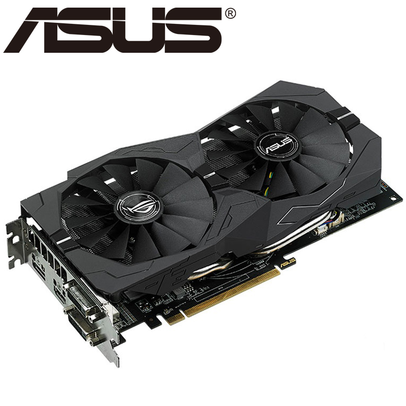 ASUS Video Graphics Card RX 570 With 4GB 256Bit GDDR5 for AMD RX 500 Series 3