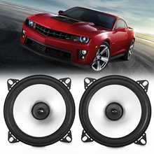 2pcs 4 Inch 60W 2 Way Car Coaxial Hifi Speaker Vehicle Door