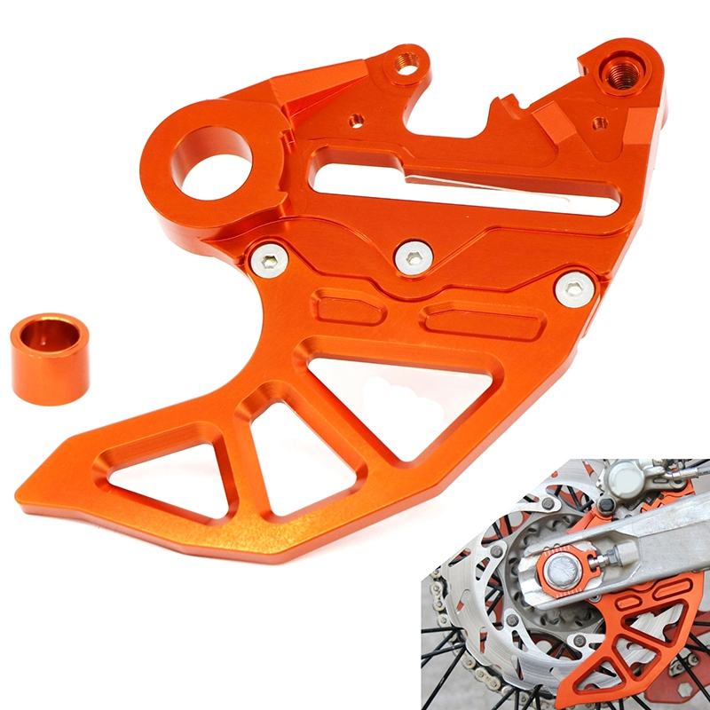 Rear Brake Disc Guard for KTM 125 150 200 250 300 350 450 500 530 SX SXF EXC EXCF XC XCF XCFW XCW 2017 2018 2019 20mm 25mm Axle image
