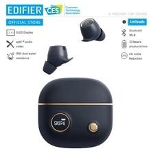 EDIFIER – écouteurs sans fil Bluetooth 5.0, Unibuds TWS, aptX, écran d'affichage numérique, temps de lecture rapide jusqu'à 32 heures