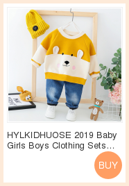 Hylkidhuose inverno bebê meninas meninos conjuntos de
