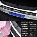 Наклейка на багажник заднего бампера для Renault Duster Megane Scenic Logan Laguna Dacia Zoe Koleos Fluence Sandero Captur