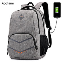 Aocharm Men Bagpack Women Travel School Backpack Women Laptop Backpack For School Teenagers Girls