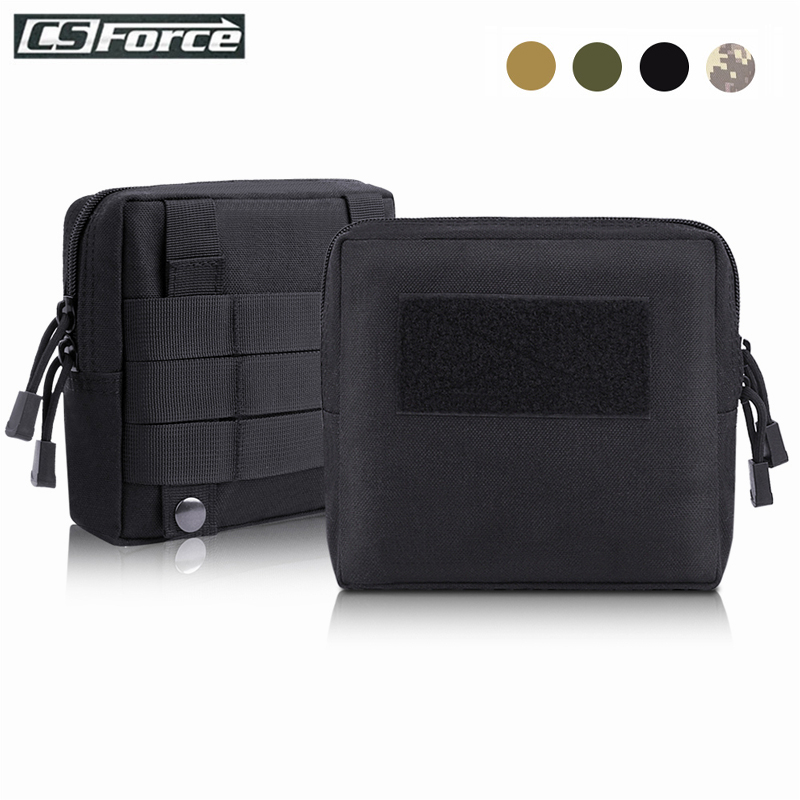 1000D Tactical Molle Pouch Waist Bag Multifunctional EDC Tool Pack Outdoor Military Mag Dump Pouch Backpack Belt Accessory Bag