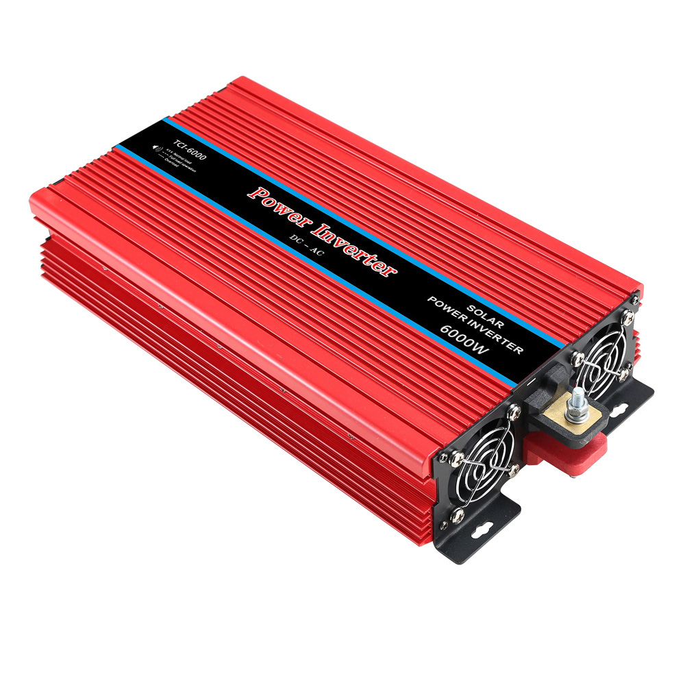 6000 W Peak Power 6000 Watt DC 12 V/24 V zu AC 220 V <font><b>230V</b></font> Auto <font><b>Inverter</b></font> LCD Display Power <font><b>Inverter</b></font> 12 V 220 V onduleur BY021 image