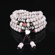 7*9 Xingyue Bodhi Bracelet 108 Buddha Bead Bracelets with Dzi Bead Bodhi Necklace Sweater Chain Wholesale Natural(China)