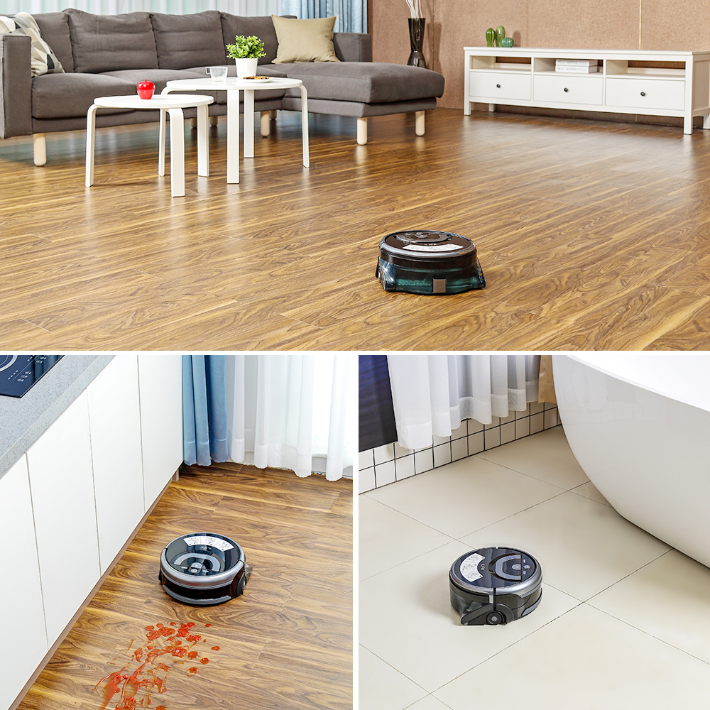ILIFE New W400 Floor Washing Robot Shinebot Navigation Large Water Tank Kitchen Cleaning Planned Cleaning Route 5