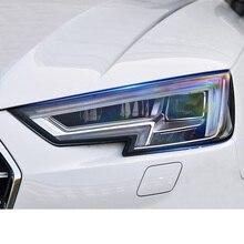 Lsrtw2017 TPU Car Headlight Protective Film for Audi A4 A3 A6 Q5 Q3 Q7 Anti-scratch Accessories