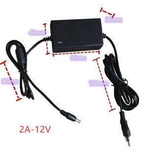 Image 2 - 100 240V AC power adapter for Monit Yongnuo YN300AIR YN300III YN360 YN600AIR YN600L YN608 YN900 Godox Viltrox LED Lamp Switching