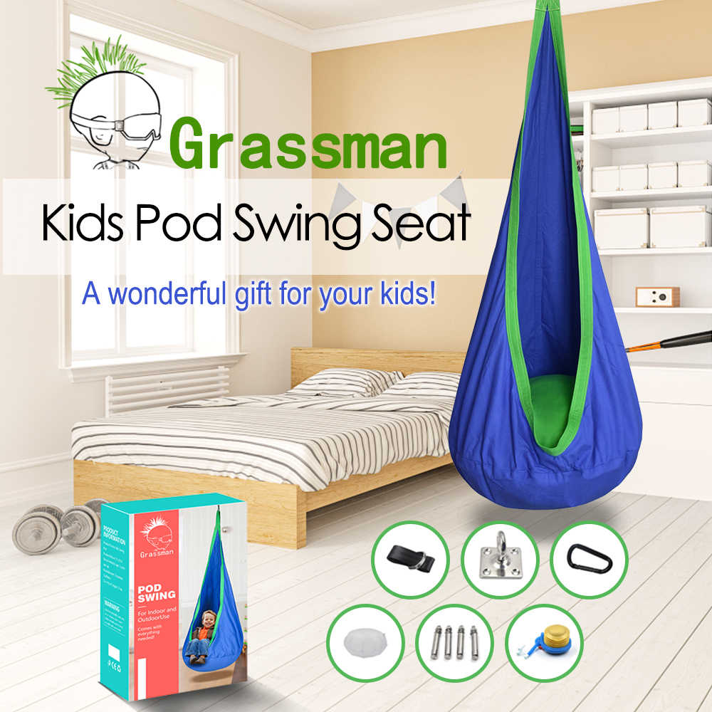 Arries Creative Kid Hammock Garden Furniture Pod Swings Chair Indoor Outdoor Hanging Seat Child Cocoon Swing Seat Patio Portable Hammocks Aliexpress