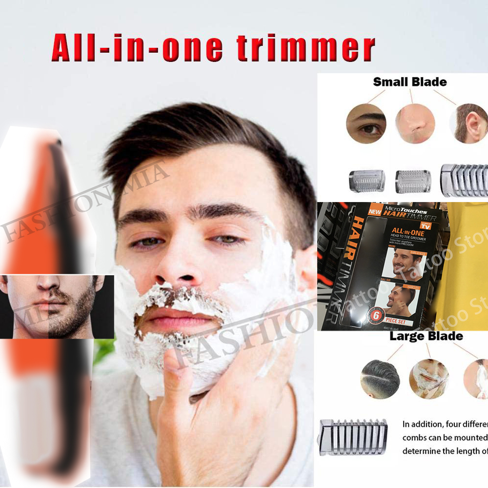 Beard-Trimmer-Machine Shaving-Razor Electric-Shaver Multi-Function Washable All-In-One