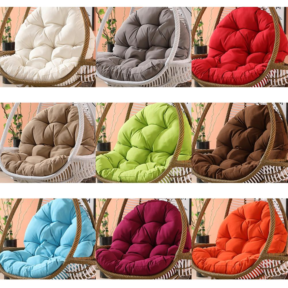 Free Shipping Swing Hanging Basket Seat Cushion Thicken Hanging Chair Pad For Home Swinging Soft Cushions Seat Bedroom Useing