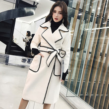 sleeves Slim Retro coat
