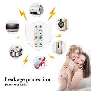 Image 3 - 2p ewelink monofásico ruído trilho wi fi inteligente consumo de energia medidor kwh wattmeter com alexa google para casa inteligente