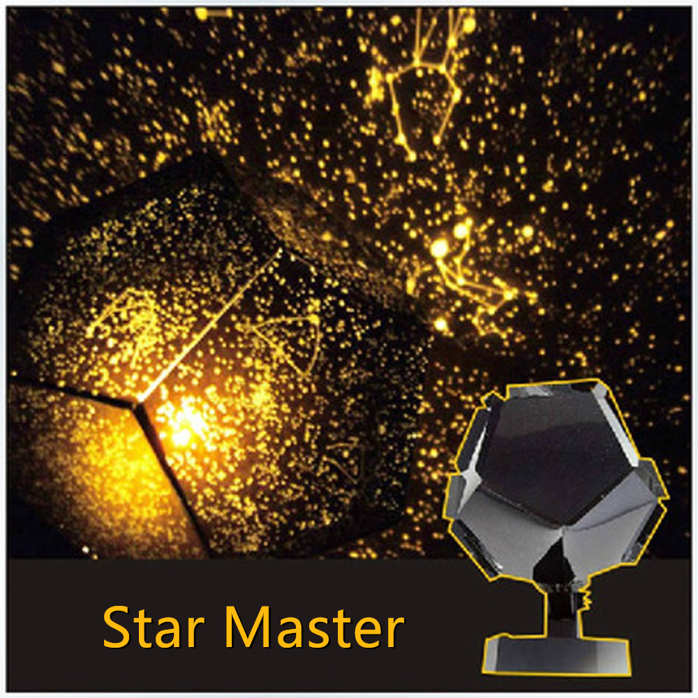 DIY LED Star Master Night Light LED Star Projector Lamp Astro Sky Projection Cosmos led Night Light Lamp Children Science Toys