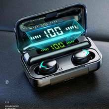 Wireless Bluetooth TWS Earbuds 2200mAh Charging Case Sports Waterproof Bluetooth Earphones Wireless