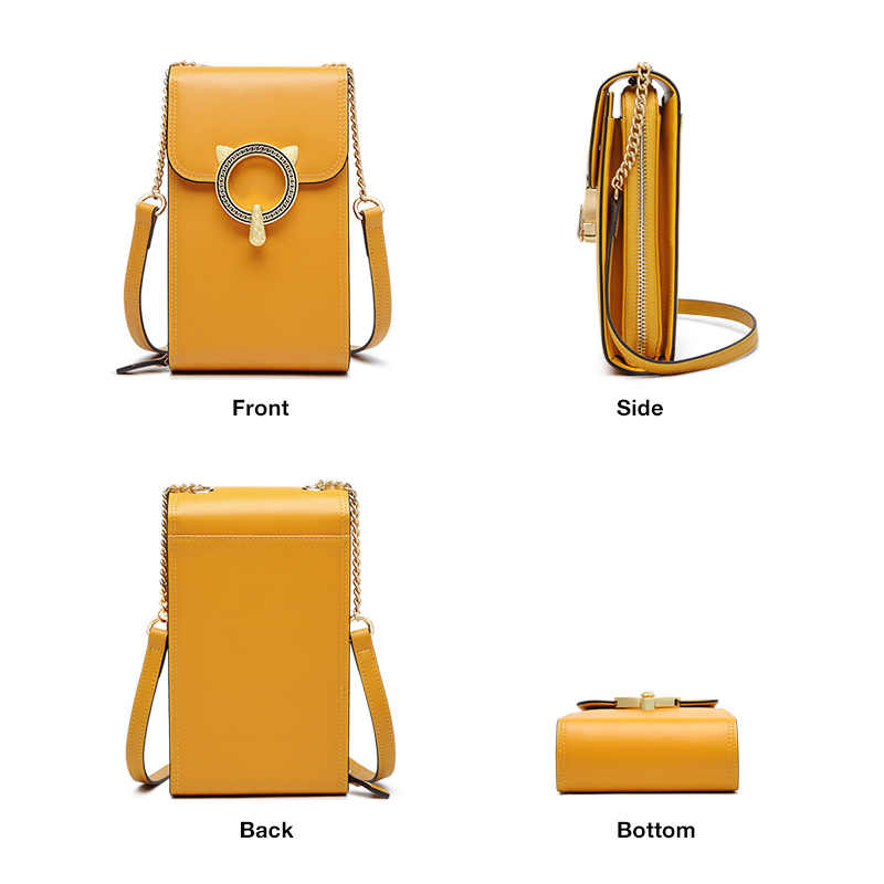 FOXER 여성 핸드폰 가방 소녀 미니 Crossbody 가방 고품질의 작은 플랩 패션 여성 Crossbody 가방 레이디 전화 가방 Qute 가방