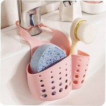 Sponge Drain storage Hanging basket Green household daily products family familiar article of everyday use