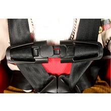 Нейлон Материал для младенцев, безопасная автокресло высокое качество однотонные Цвет ремень накладка для ремня безопасности груди ребенка Зажим для ремня безопасности безопасной пряжкой