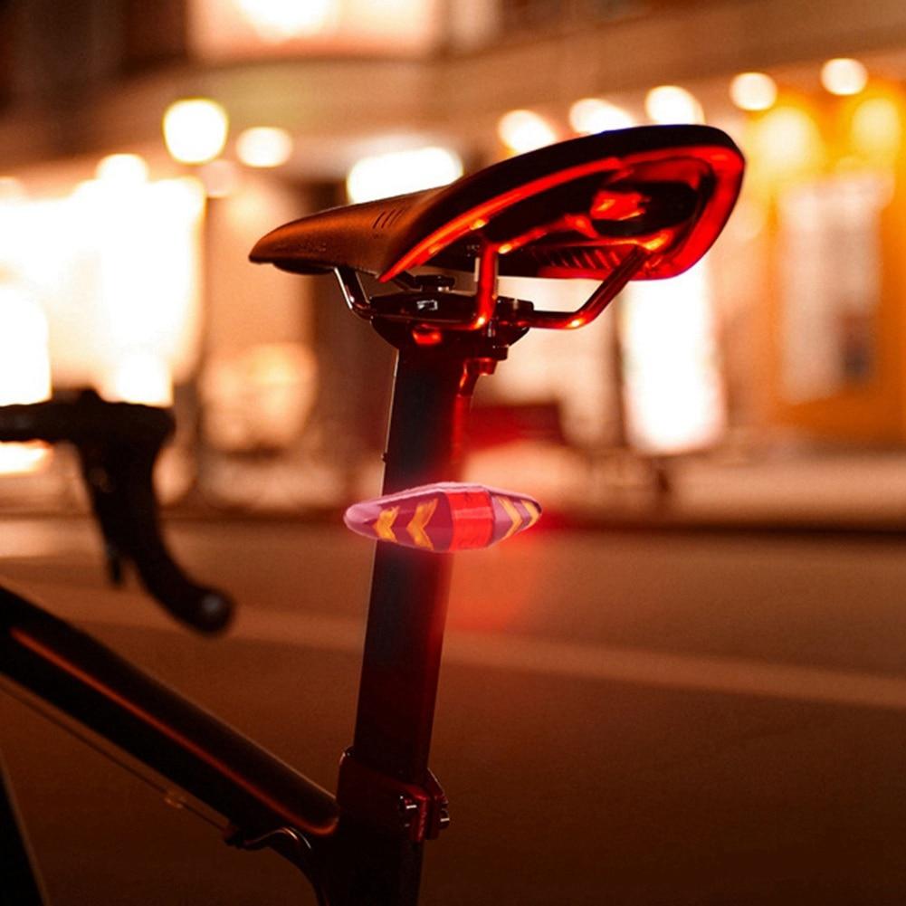 NEW-Bicycle Turn Signal Wireless Remote Mountain Bike Taillights Cycling Lights Flashing Headlights