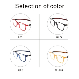 Image 4 - Tr90 leitores óculos de leitura homem feminino ímã portátil diopter pendurado pescoço 1.0 1.5 2.0 2.5 3.0 3.5