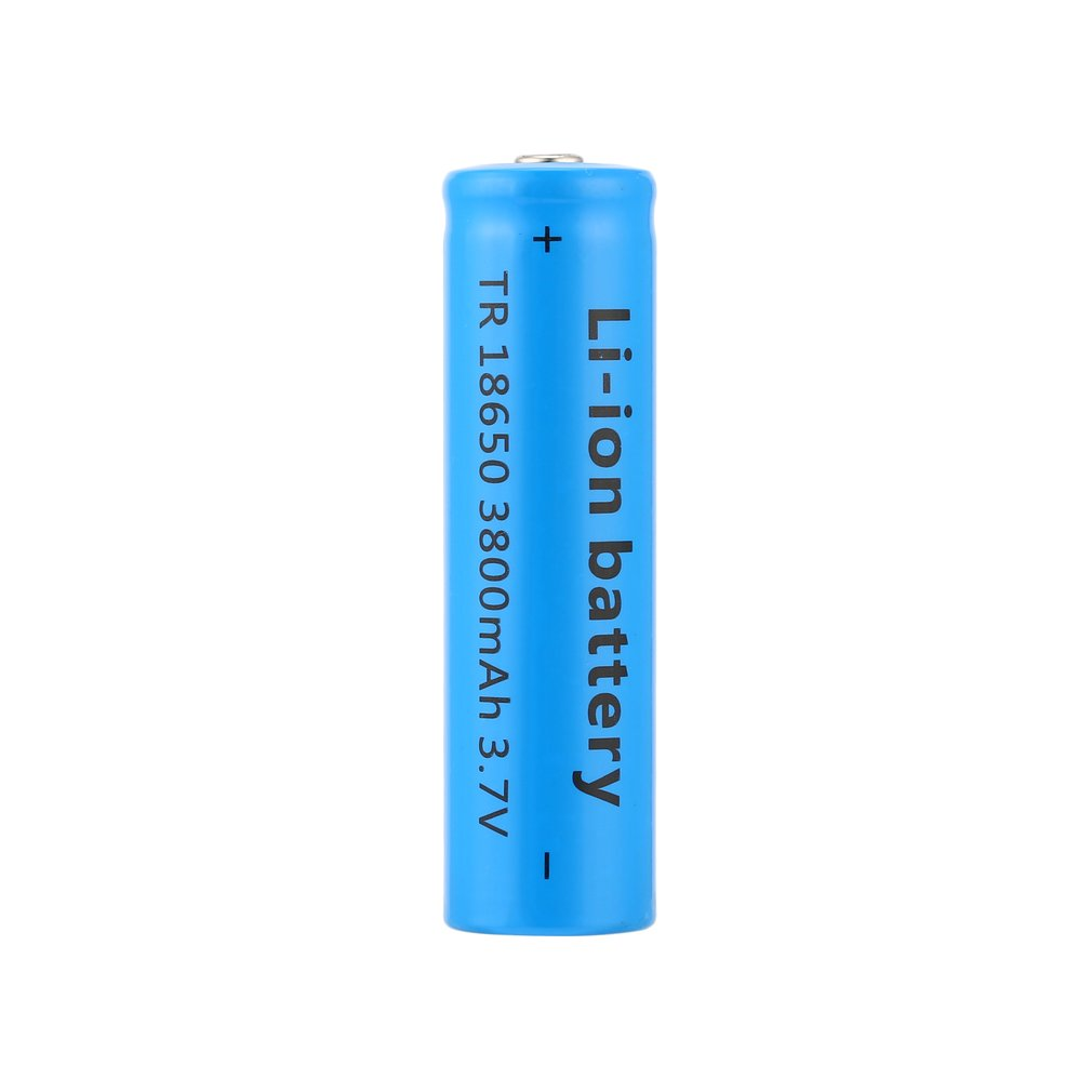 18650 Li-ion 3800mAh Capacity 3.7V Rechargeable Battery For LED Torch Flashlights Blue New Torch 18650 Batteries