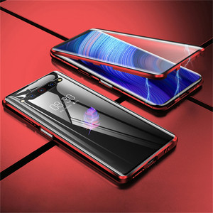 Image 2 - For Nubia Z20 Smartphone Aluminum Metal Bumper & 9H Tempered Glass Magnet Phone Case Protective Cover for ZTE Nubia Z20 Phone