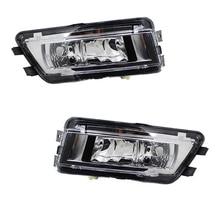 цена на Auto Front Left Right Halogen Bumper Fog Light Fog Lamp Assembly for VW Passat B7 2011 2012 2013 2014 2015 56D941699 56D941700