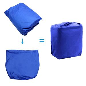 Image 5 - X AUTOHAUX 540/570/700 x 280/300CM 210D Trailerable Boat Cover Waterproof Fishing Ski Bass Speedboat V Shape Blue Boat Cover