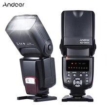 Andoer-Flash de cámara Universal AD-560 II, GN50 Speedlite, con luz de relleno ajustable, para Canon, Nikon, Olympus, Pentax, DSLR, disponible en Rusia