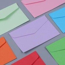 10pcs/lot Mini Envelopes 115mm*80mm Candy Color Mini Envelope Fourteen Selections Paper Korean Stationery Gift
