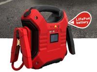 Leistungsstarke 35000mah 1200A Diesel batterie Auto Starthilfe Pack 12V 24V Heavy Duty Booster Power Bank
