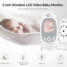 VB601 2 Inch 2.4GHz Wireless LCD Baby Video Monitor with Infrared Night Vision Two Way Audio Communication Baby Sleeping Monitor