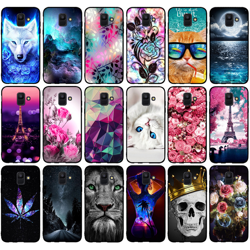 Case For Samsung Galaxy A6 2018 Case SM A600 A600F TPU Soft Silicone Back Cover For Coque Samsung A6 A600 Cover 5.6\