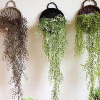 家庭用装飾手作り革新簡潔な色環境にやさしい吊り花籠新