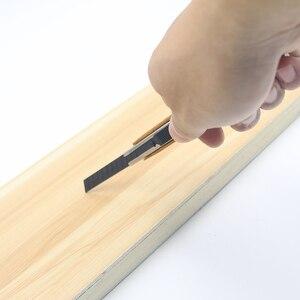 Image 2 - Woodwork Carpenter Pencil Carbon Fiber Snap Off Cutting Mechanical Pocket clip Wood Handle Durable Professional Multifunction