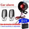 Ein Weg, Auto Alarm Sirene Anti-Scratch, scratch Fernbedienung Neue Diy Auto Zubehör Einstellbare Empfindlichkeit 12v Dc