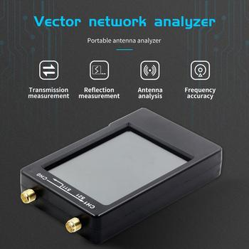 New NanoVNA-H 50KHz~1.5GHz VNA 2.8inch LCDHF VHF UHF UV Vector Network Analyzer Antenna Analyzer 50MAh Battery Antenna Analyzer