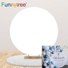 Funnytree сплошной цвет Круг Круг фон обложки розовый голубой черный день рождения студии фотографии фон фотосессия декор