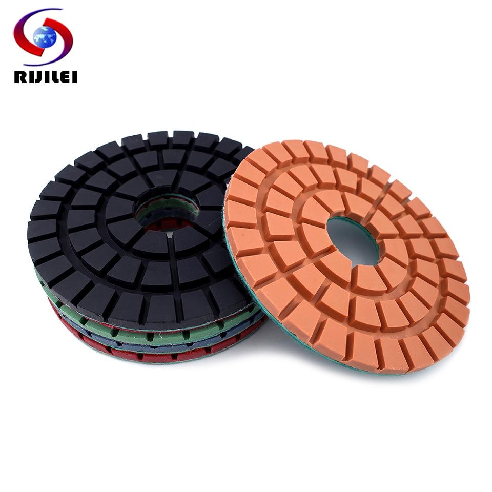"5pcs 3/"" 3000 Grit Sponge Angle Grinding Polishing Pad Wheel for Granite Mable"
