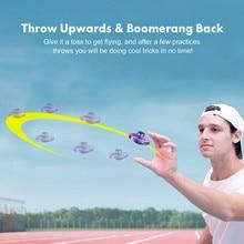 Мини-Дрон с полным покрытием 3D подвижный индукционный Дрон Квадрокоптер игрушка RTF Безголовый режим парящий самолет светодиодный свет дети, игрушки для взрослых подарок