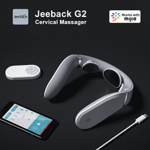 Jeeback Cervical Massager G2 TENS Pulse Back Neck Massager Mijia APP Control 42 Degree Hot Compress Neck Pain Relief