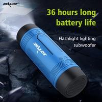 Portable Wireless Speaker with Flashlight