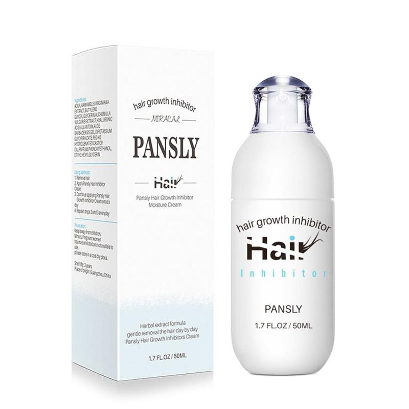 Pansly Hair Growth Inhibitor Hair Removal Repair Nourish Effective Herbal Permanent Liquid Hair Removal Repair Liquid